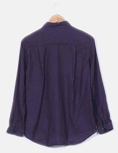 Camisa hilo azul marino