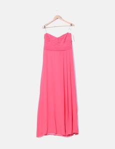 32f4ad0797 Vestido de fiesta coral Veneno en la Piel