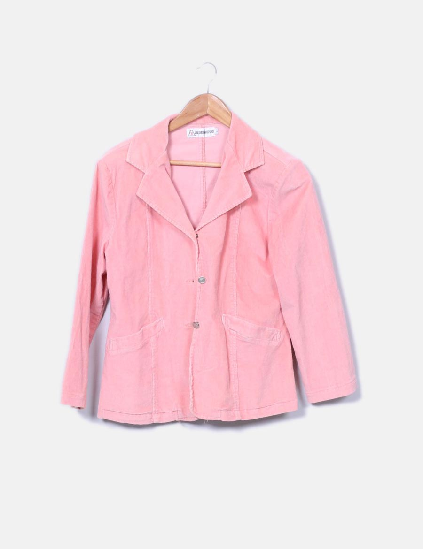 b188ed40d9fae pana Oro Mujer baratos online y Chaquetas de esquina Blazer rosa Abrigos La  de de SfYwCC5q ...