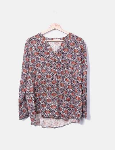 Floral print blouse Okeysi