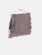 Foulard color taupé texturizado NoName