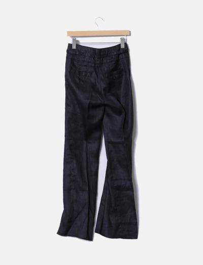 Pantalon de pinza gris oscuro