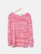 Pull multi-couleurs deux tricot Springfield