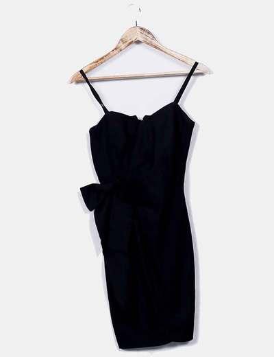 RAQUEL VEGA Kleid mit schwarzer Schleife (Rabatt 74 %) - Micolet 2b317cc9a8