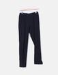 Pantalón pinzas negro Zara