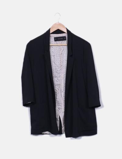 Blazer negra Zara