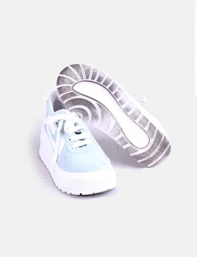 Azules Zapatillas Con Plataforma Azules Con Zapatillas Plataforma bgYf76yv