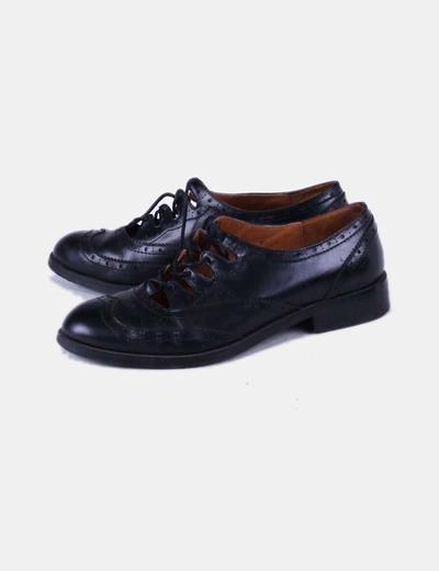Zapato plano negro