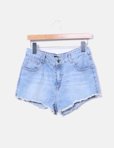 Shorts denim azul claro Inside
