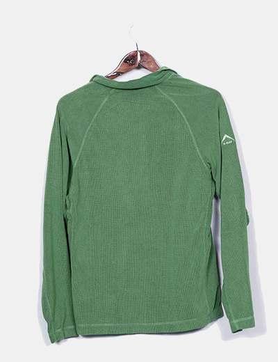 88067dc562a K-WAY Camiseta verde manga larga (descuento 75%) - Micolet