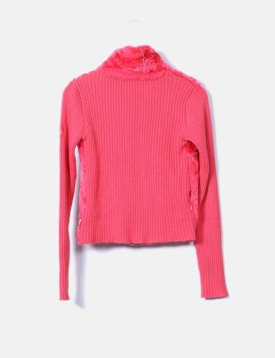 Jersey rosa con pelo