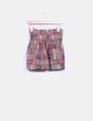 Falda rígida estampado multicolor Kiwi