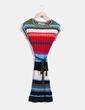 Robe multi-couleurs en tricot Desigual