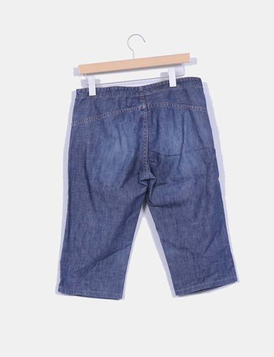 Pantalon pirata demin