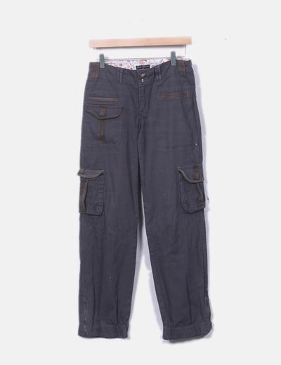 Calças retas Fabo Fashion