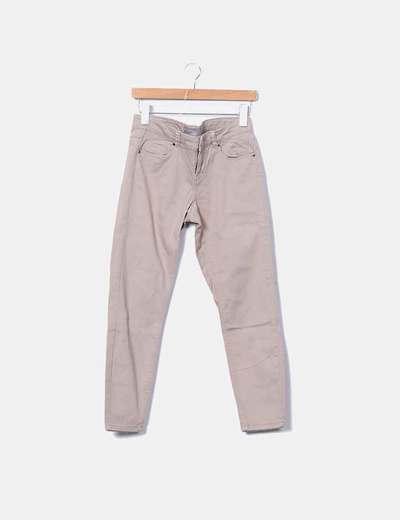 Pantalon marron denim Vero Moda