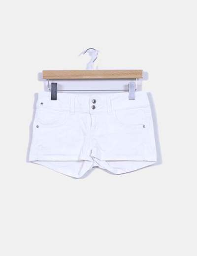 Short blanco Suiteblanco