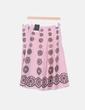 Falda midi rosa lentejuelas doradas Dorothy Perkins