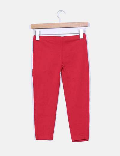 Leggings pirata rojos