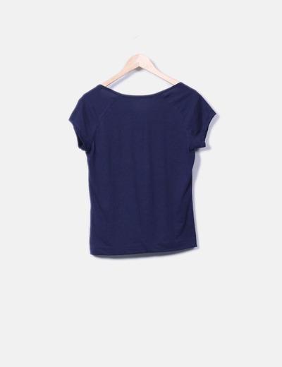Camiseta basica azul marino