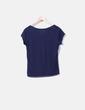 Camiseta básica azul marino Decathlon