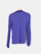 Camiseta manga larga azul marino Zara