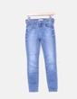 Jeans denim azul claro Zara