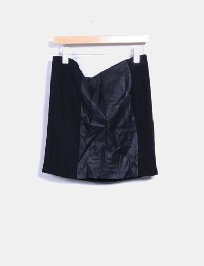 Mini-jupe noire Vero Moda