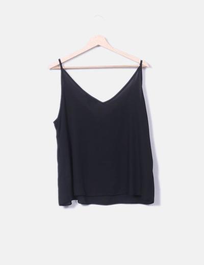 en venta precio loco más vendido Blusa lencera negra
