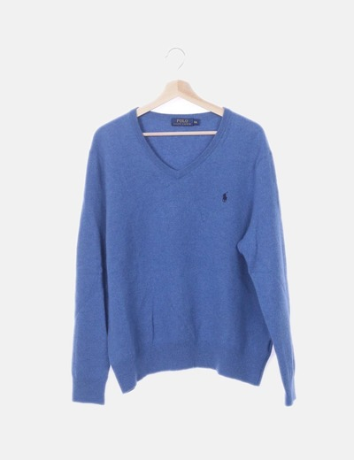 Jersey tricot azul