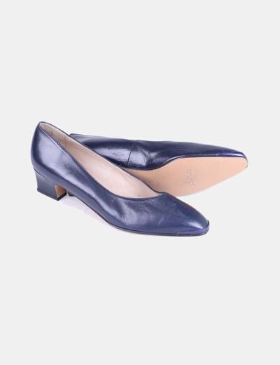 d863554b3 NoName Zapato azul marino de tacón (descuento 78%) - Micolet