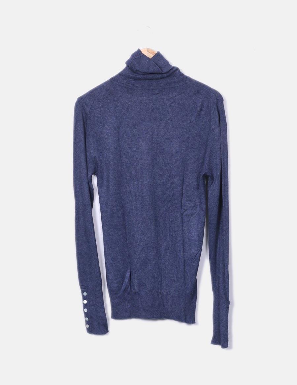 ... Mujer azul baratos online Primark de Chaquetas cisne punto y cuello  Jersey Abrigos fwtgzxqv 9a3a9bd609f
