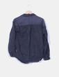 Camisa denim gris efecto desgastado Pull & Bear