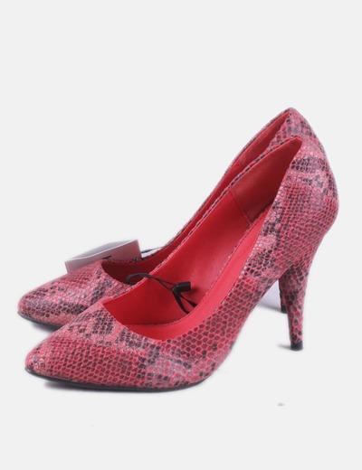 df0c2bea Lefties Zapatos salón animal print rojos (descuento 63%) - Micolet
