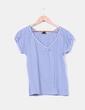 Camiseta de rayas azules H&M