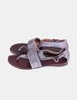 Sandales grises texturé Chie Mihara