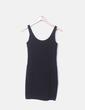 Mini vestido negro H&M