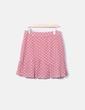 Falda rosa print lunares Loavies