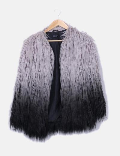 da4df20a0e2e8 Topshop Abrigo de pelo largo (descuento 54%) - Micolet