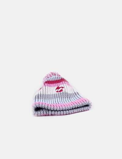 Chapeau tricoté avec pompon tricolor Billabong
