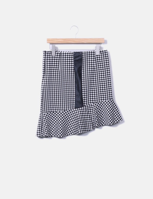 420400c815 NoName online vuelo baratas con de Faldas estampado Minifalda asimétrico  wX61Bq4 ...