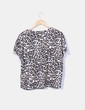 Camiseta oversize animal print Zara