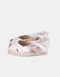 Sandales beiges compensées à rayures sparte Castañer
