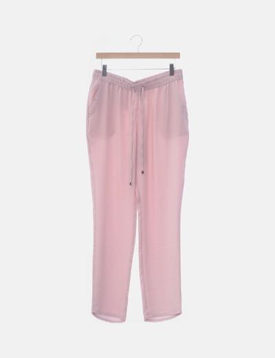 Pantalón jogger rosa