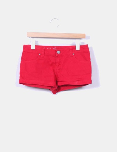 Short rojo Inside