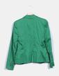 Blazer entallada verde Zara
