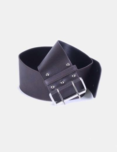 Cinturón marrón NoName