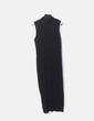 Maxi vestido negro tricot Adolfo Dominguez