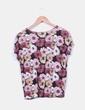 Camiseta floral Stradivarius