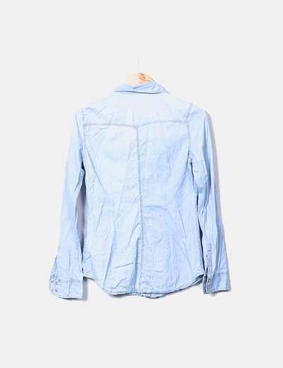 Camisa denim clara